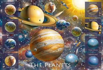 The Planets Jigsaw Puzzles;Children s Puzzles - image 2 - Ravensburger