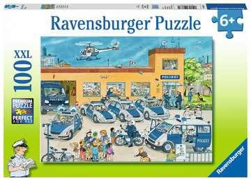 10867 Kinderpuzzle Polizeirevier von Ravensburger 1