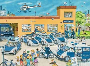 10867 Kinderpuzzle Polizeirevier von Ravensburger 2