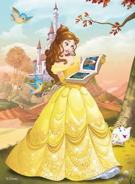 Belle Reads a Fairy Tale Jigsaw Puzzles;Children s Puzzles - image 2 - Ravensburger