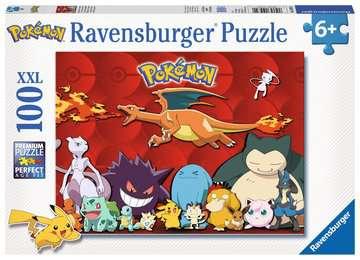 Puzzle 100 p XXL - Mes Pokémon préférés Puzzle;Puzzle enfant - Image 1 - Ravensburger