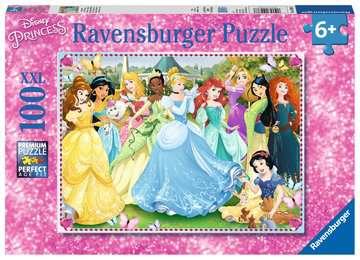 Puzzle 100 p XXL - Princesses magiques / Disney Princesses Puzzle;Puzzles enfants - Image 1 - Ravensburger