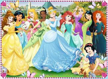 Puzzle 100 p XXL - Princesses magiques / Disney Princesses Puzzle;Puzzles enfants - Image 2 - Ravensburger