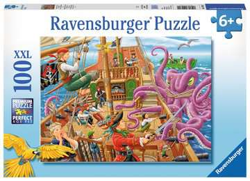 Pirate Boat Adventure Jigsaw Puzzles;Children s Puzzles - image 1 - Ravensburger