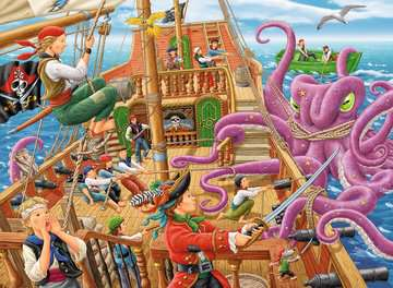 Pirate Boat Adventure Jigsaw Puzzles;Children s Puzzles - image 2 - Ravensburger