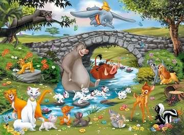 Puzzle 100 p XXL - La famille d Animal Friends / Disney Puzzle;Puzzle enfant - Image 2 - Ravensburger