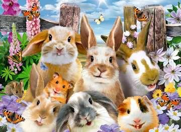 Rabbit Selfie XXL 100pc Puslespil;Puslespil for børn - Billede 2 - Ravensburger