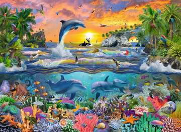 Tropical Paradise Puslespil;Puslespil for børn - Billede 2 - Ravensburger