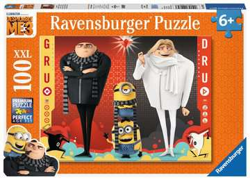 Gru and Dru Jigsaw Puzzles;Children s Puzzles - image 1 - Ravensburger