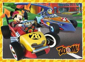 MICKEY RAŹNI RAJDOWCY 100 EL. Puzzle;Puzzle dla dzieci - Zdjęcie 2 - Ravensburger