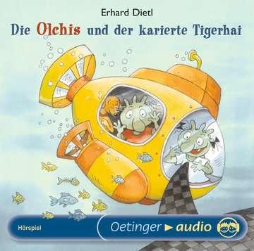 11097005 tiptoi® Hörbücher Die Olchis und der karierte Tigerhai von Ravensburger 1