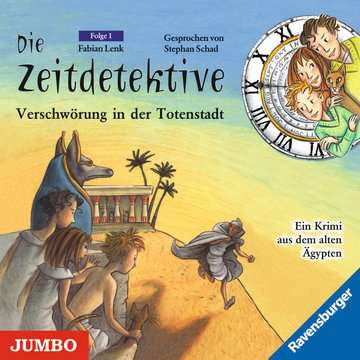 11097038 tiptoi® Hörbücher Die Zeitdetektive - Verschwörung in der Totenstadt von Ravensburger 1