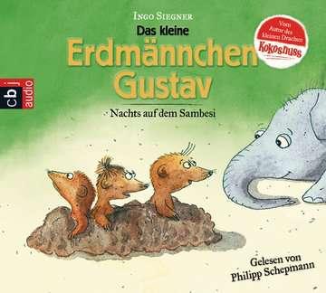 11097047 tiptoi® Hörbücher Das kleine Erdmännchen Gustav - Nachts auf dem Sambesi von Ravensburger 1