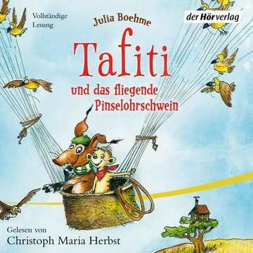 11097054 tiptoi® Hörbücher Tafiti und das fliegende Pinselohrschwein von Ravensburger 1