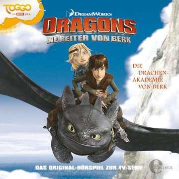 11097111 tiptoi® Hörbücher Dragons - Die Reiter von Berk - Folge 1: Die Drachenakademie von Berk von Ravensburger 1