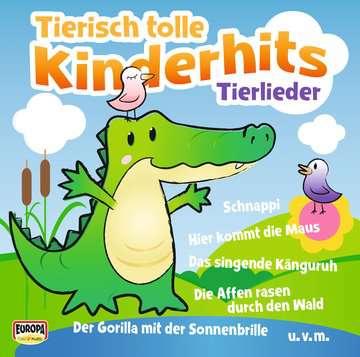 11097154 tiptoi® Lieder Tierisch tolle Kinderhits - Tierlieder von Ravensburger 1