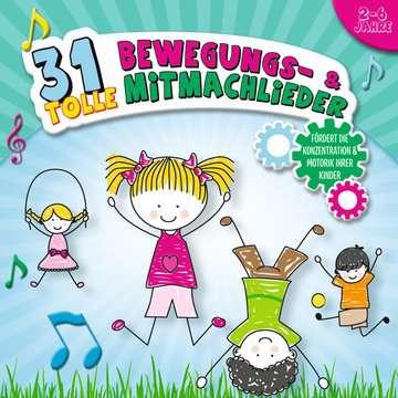 31 tolle Beweg- und Mitmachlieder tiptoi®;tiptoi® Lieder - Bild 1 - Ravensburger