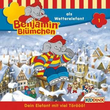 Benjamin Blümchen - ...als Wetterelefant tiptoi®;tiptoi® Hörbücher - Bild 1 - Ravensburger