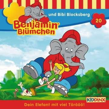 11097189 tiptoi® Hörbücher Benjamin Blümchen - ...und Bibi Blocksberg von Ravensburger 1
