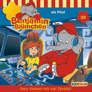 11097190 tiptoi® Hörbücher Benjamin Blümchen - ...als Pilot von Ravensburger 1