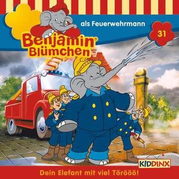 11097191 tiptoi® Hörbücher Benjamin Blümchen - ...als Feuerwehrmann von Ravensburger 1