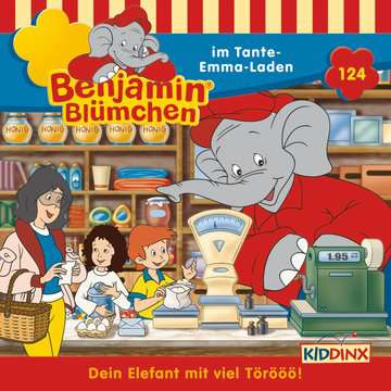 11097192 tiptoi® Hörbücher Benjamin Blümchen - ...im Tante-Emma-Laden von Ravensburger 1