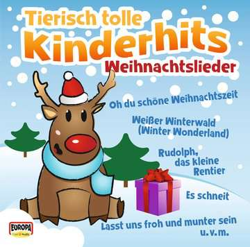 Tierisch tolle Kinderhits - Weihnachtslieder tiptoi®;tiptoi® Lieder - Bild 1 - Ravensburger