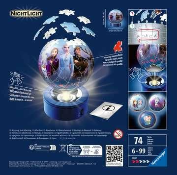 Puzzle 3D rond 72 p illuminé - Disney La Reine des Neiges 2 3D puzzels;Puzzle 3D Ball - Image 2 - Ravensburger