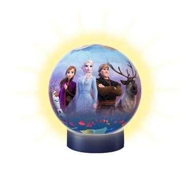 Puzzle 3D rond 72 p illuminé - Disney La Reine des Neiges 2 3D puzzels;Puzzle 3D Ball - Image 3 - Ravensburger