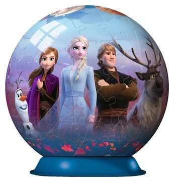 Puzzle-Ball Disney Ledové království 2 72 dílků 3D Puzzle;Puzzleball - obrázek 3 - Ravensburger