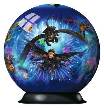 11144 3D Puzzle-Ball Dragons 3 von Ravensburger 2