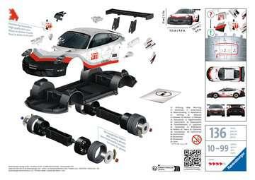 Porsche GT3 Cup 3D Puzzle, 108pc 3D Puzzle®;Former - Billede 2 - Ravensburger