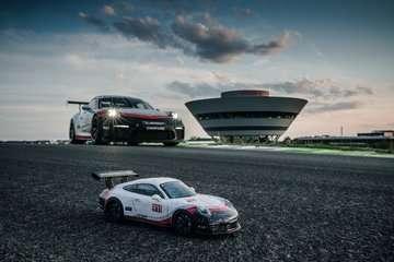 Porsche GT3 Cup 3D Puzzle, 108pc 3D Puzzle®;Former - Billede 3 - Ravensburger