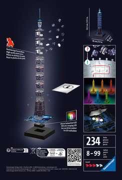 11149 3D Puzzle-Bauwerke Taipei 101 bei Nacht von Ravensburger 2