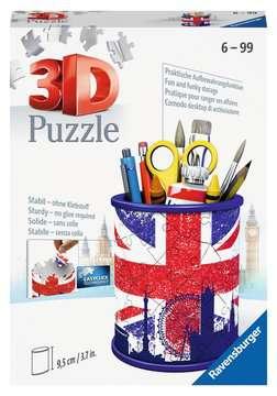 Puzzle 3D Pot à crayons - Union Jack Puzzle 3D;Puzzles 3D Objets à fonction - Image 1 - Ravensburger
