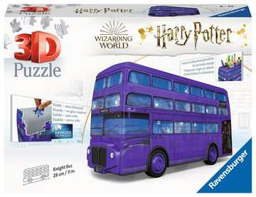 Harry Potter Knight Bus, 216pc 3D Puzzle®;Former - bilde 1 - Ravensburger