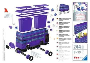 Harry Potter bus 3D puzzels;3D Puzzle Specials - image 2 - Ravensburger