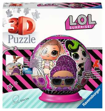 LOL Surprise 3D Puzzle, 72pc 3D Puzzle®;Shaped 3D Puzzle® - image 1 - Ravensburger