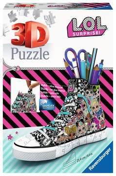 Ravensburger LOL Surprise! - Trainer 108 piece 3D Jigsaw Puzzle for Kids age 8 years and up. An ideal Desk tidy or Pencil pot 3D Puzzle®;Former - Billede 1 - Ravensburger