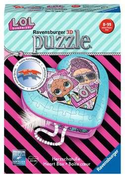 Herzschatulle - LOL 3D Puzzle;3D Puzzle-Organizer - Bild 1 - Ravensburger