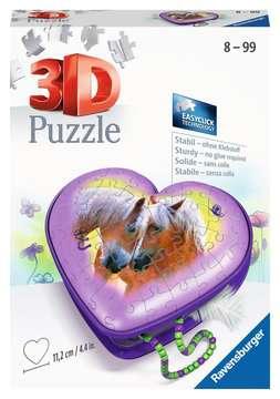 11171 3D Puzzle-Organizer Herzschatulle - Pferde von Ravensburger 1