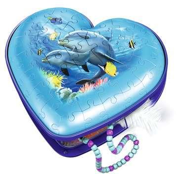 Hartendoosje - Onderwaterwereld 3D puzzels;3D Puzzle Specials - image 3 - Ravensburger