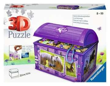 11173 3D Puzzle-Organizer Schatztruhe Pferde von Ravensburger 1