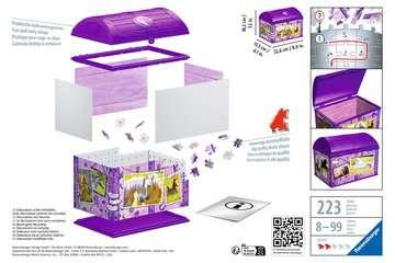 11173 3D Puzzle-Organizer Schatztruhe Pferde von Ravensburger 2