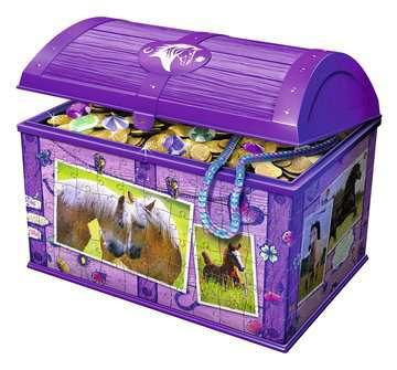 Schatkist - paarden 3D puzzels;3D Puzzle Specials - image 3 - Ravensburger