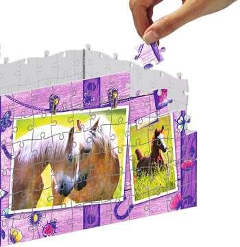 Úložná krabice Kůň 216 dílků 3D Puzzle;Zvláštní tvary - obrázek 4 - Ravensburger