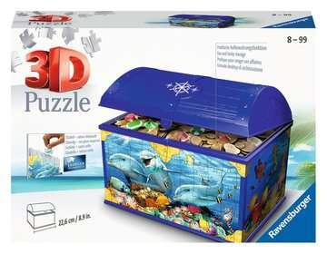 11174 3D Puzzle-Organizer Schatztruhe Unterwasserwelt von Ravensburger 1