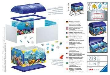 11174 3D Puzzle-Organizer Schatztruhe Unterwasserwelt von Ravensburger 2