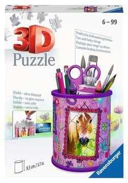 Stojan na tužky Kůň 54 dílků 3D Puzzle;Zvláštní tvary - obrázek 1 - Ravensburger