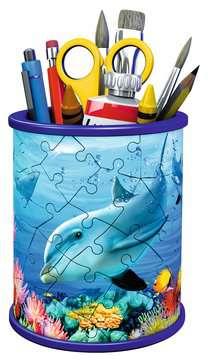 Stojan na tužky Podvodní svět 54 dílků 3D Puzzle;Zvláštní tvary - obrázek 3 - Ravensburger